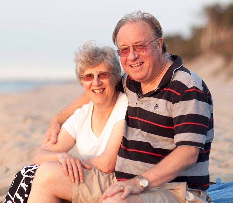 Dave & Liz Percival